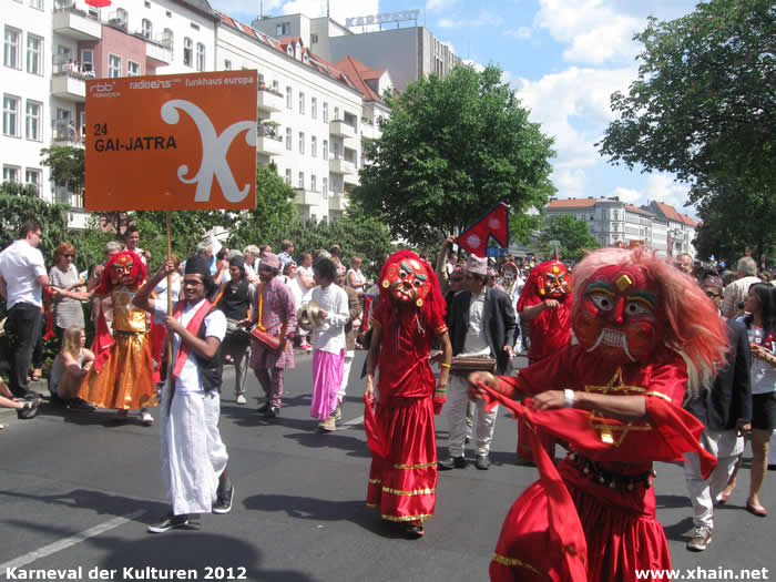 Karneval der Kulturen 2012: GAI-JATRA