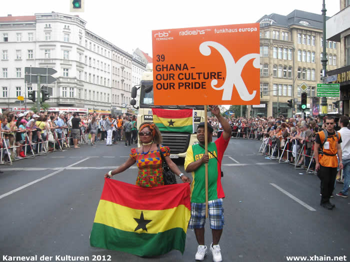 Karneval der Kulturen 2012: Ghana