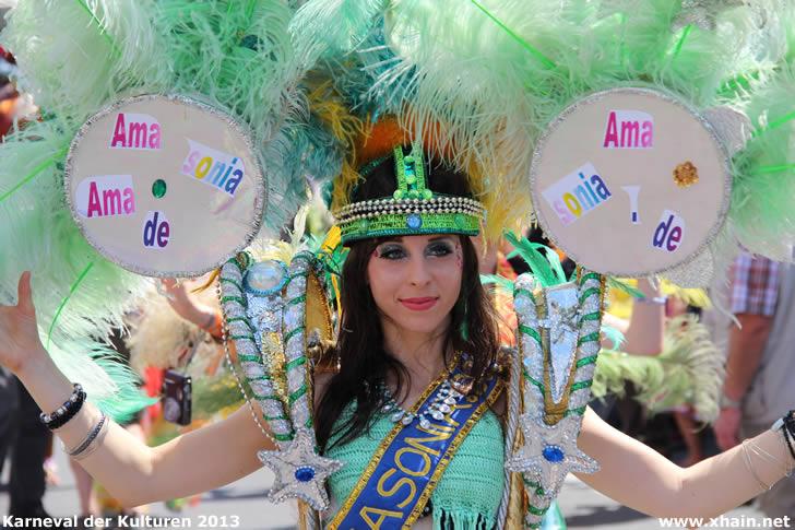 Karneval der Kulturen 2013 - Amasonia