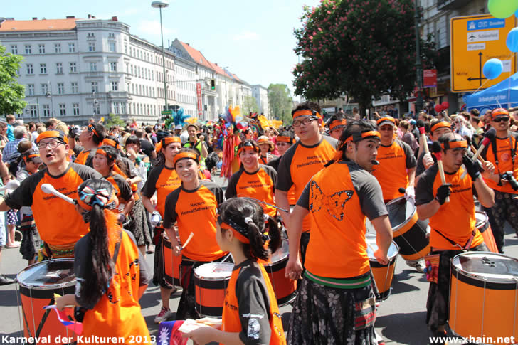 Karneval der Kulturen 2013 - Heimatschwärmer