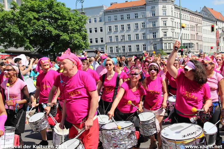 Karneval der Kulturen 2013 - Bloco Explosão