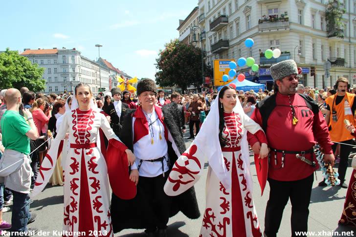 Karneval der Kulturen 2013 - Tscherkessischer Kulturverein