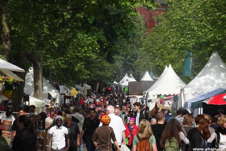 Der Karneval der Kulturen 2015 hat begonnen.
