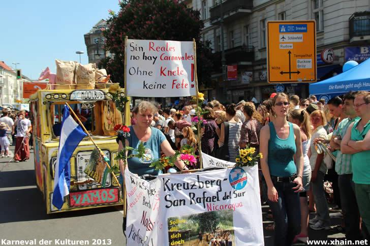 Karneval der Kulturen 2013 - StäPa Kreuzberg – San Rafael del Sur