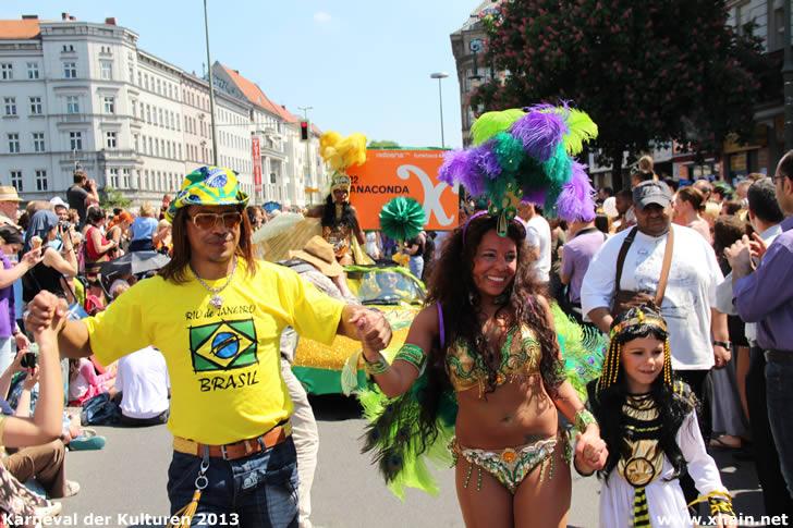 Karneval der Kulturen 2013 - Anaconda