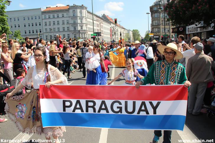 Karneval der Kulturen 2013 - ASPA - Asociación de Paraguayos en Alemania
