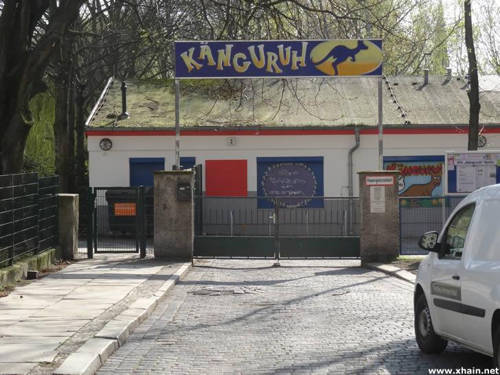 Kinderfreizeiteinrichtung Känguruh in der Konitzer Straße