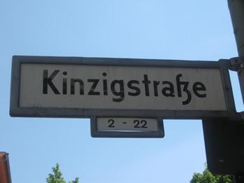 Kinzigstraße