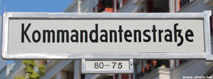 Kommandantenstraße