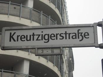 Kreutzigerstraße