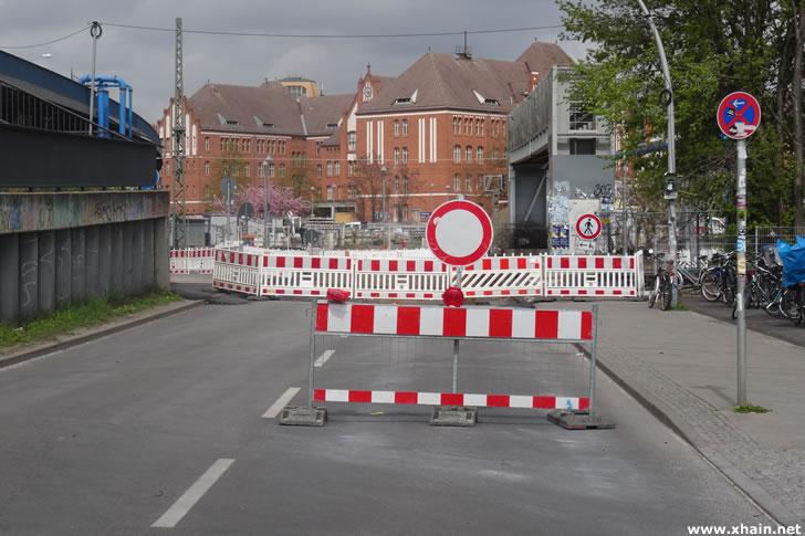 Ostkreuz: Kynaststraße Ecke Hauptstraße