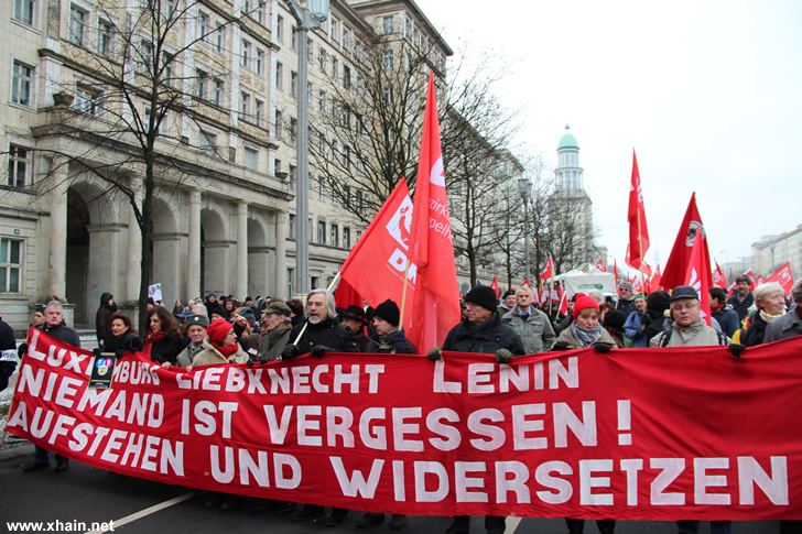 Liebknecht-Luxemburg-Demonstration 2013