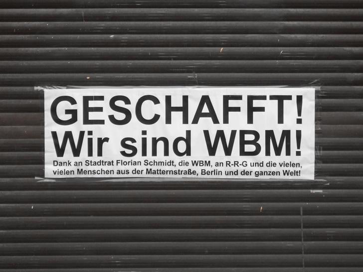 Matternstraße 4 wird kommunalisiert