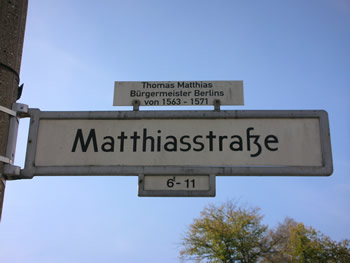 Matthiasstraße