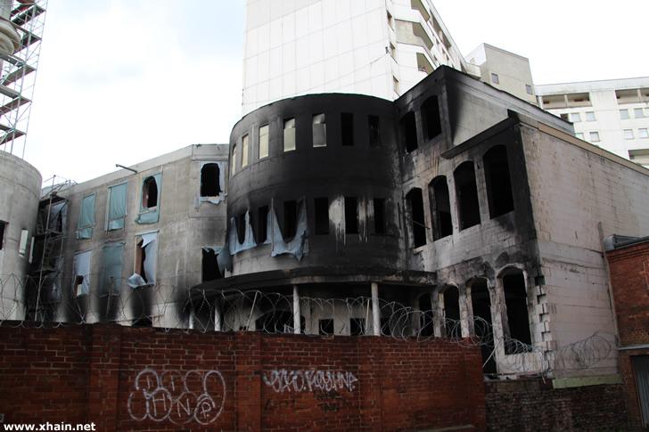 Brandanschlag auf die Mevlana-Moschee in Berlin-Kreuzberg