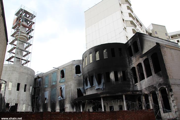 Mevlana-Moschee: Spuren einer brennbaren Flüssigkeit festgestellt
