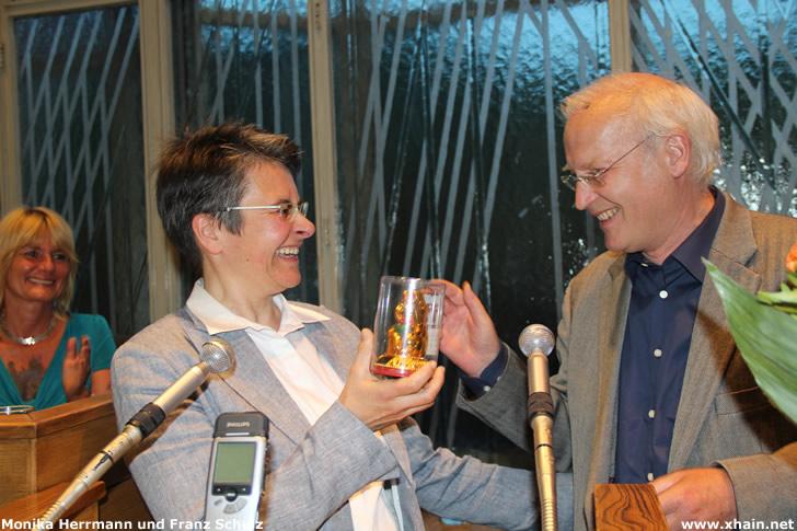 Monika Herrmann und Franz Schulz