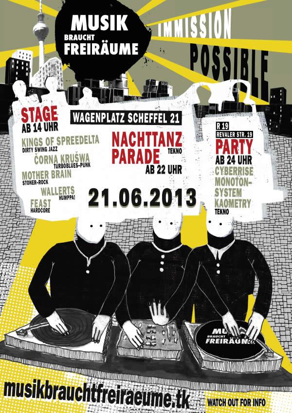 Fete de la Musique 2013 - Musik Braucht Freiräume