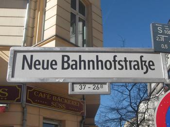 Neue Bahnhofstraße