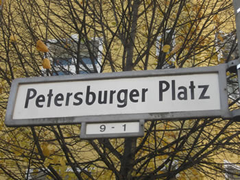 Petersburger Platz