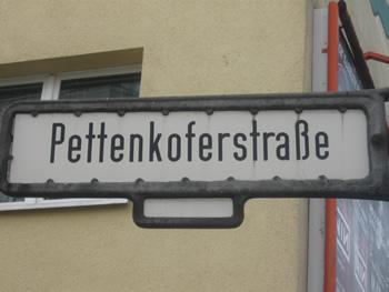 Pettenkoferstraße