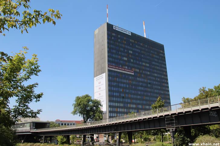 Posthochhaus am Halleschen Ufer