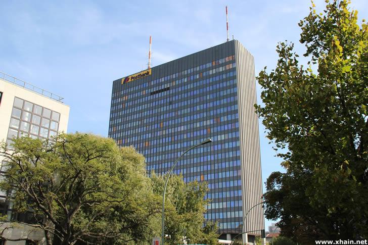 Informationsveranstaltung zum Bauvorhaben Postbank-Hochhaus