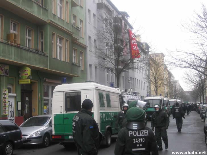 Zwangsräumung in der Lausitzer Straße