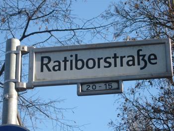 Ratiborstraße