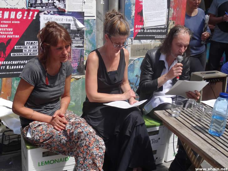 Pressemitteillung Anwohner der Rigaer Strraße