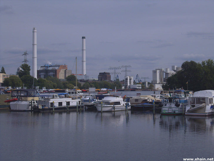 Rummelsburger See in Berlin-Friedrichshain (2009)