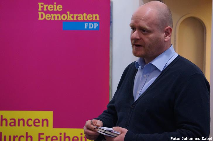 Bernd Schlömer, Spitzenkandidat der FDP Friedrichshain-Kreuzberg