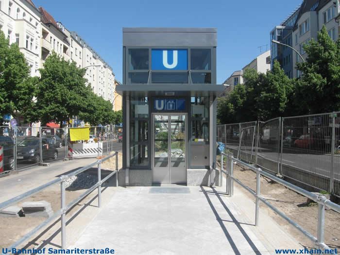 Aufzug U-Bahnhof Samariterstraße (U5)