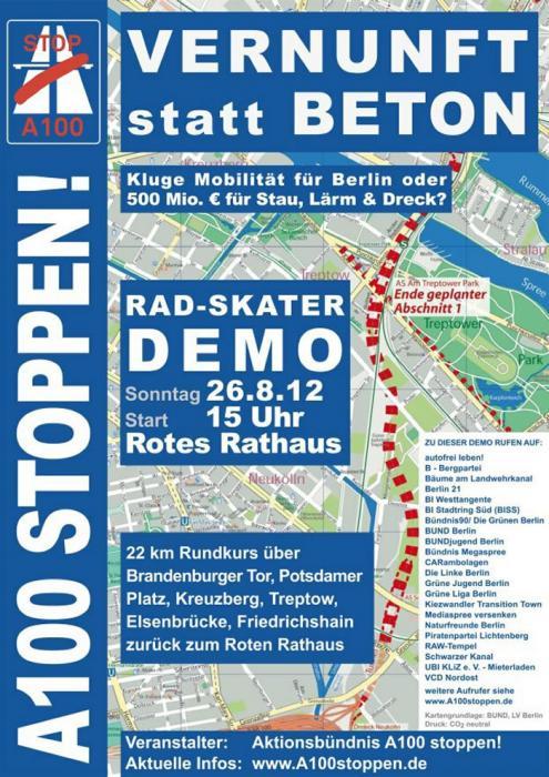 A100 Demo am Sonntag, 26.8.2012