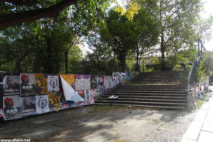 "Kreuzberg: ""Skalitzer Park"" wegen Rattenbefalls geschlossen"