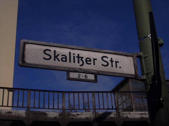 Radfahrstreifen an der Skalitzer Straße: Erster Bauabschnitt fertiggestellt