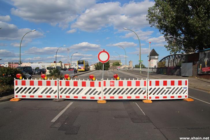 Brückenschäden: Elsenbrücke teilweise gesperrt