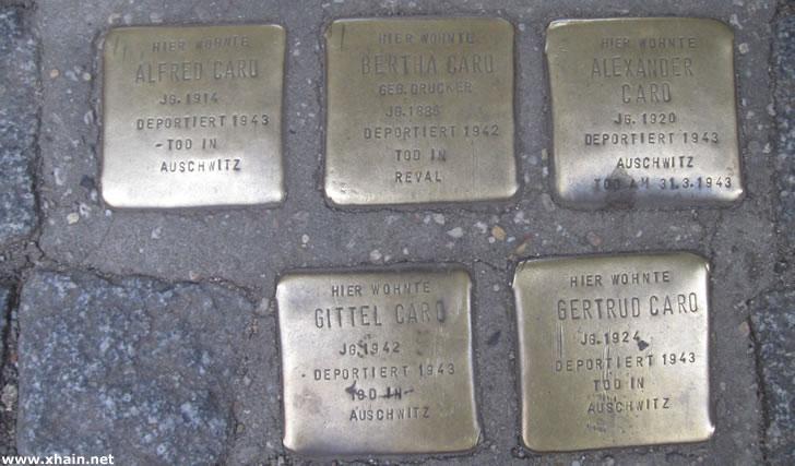 Friedrichshain-Kreuzberg übernimmt als erster Bezirk die Finanzierung der Stolpersteine
