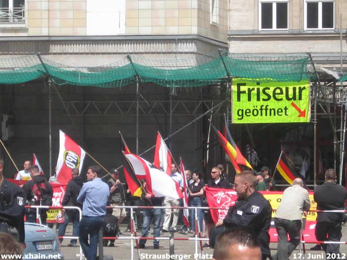 NPD-Kundgebung Strausberger Platz 17. Juni 2012