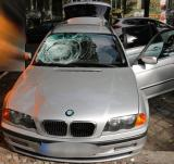Wer hat den BMW im Tatzeitraum bemerkt und kann Angaben zu den Insassen machen?