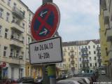 Halteverbot in der Gabelsbergerstraße