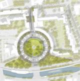 Entwurf Mehringplatz (Stand 2016) Arge Lavaland / Treibhaus Landschaftsarchitektur