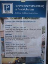 Parkraumbewirtschaftungszonen in Friedrichshain