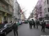 Räumung einer Wohnung in der Lausitzer Straße 8 in Berlin-Kreuzberg