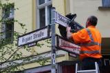 Umbenennung der Gabelsbergerstraße