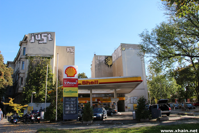 Shell-Tankstelle am Görlitzer Park
