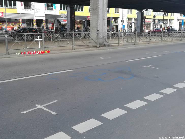 Tödlicher Unfall am Kottbusser Tor