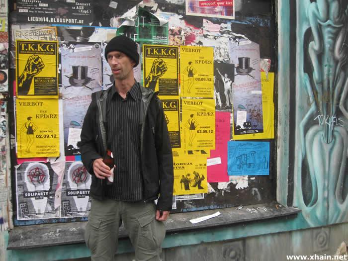 Volker Stoi: Vorsitzender der APPD und Anmelder der Wasserschlacht 2012