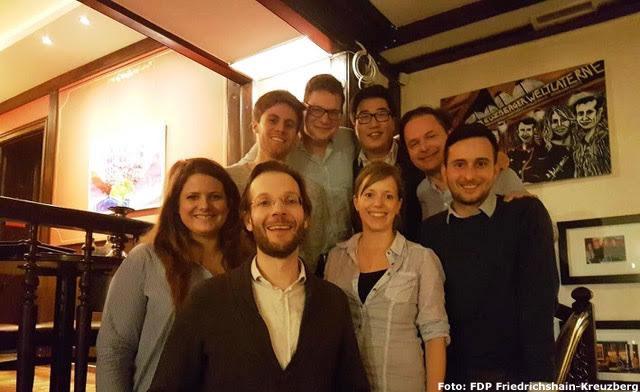 Vorstandsmitglieder der FDP Friedrichshain-Kreuzberg