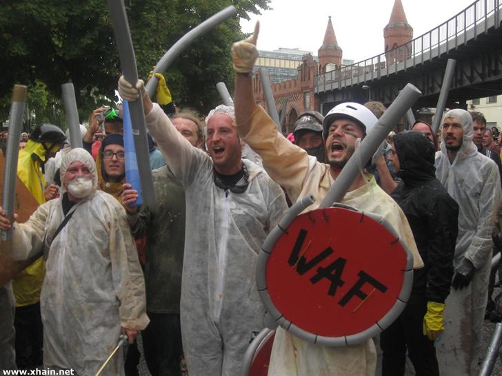 Wasserschlacht 2013: Die WAF hat gewonnen